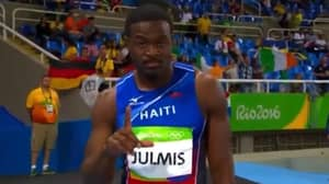 Athlete 'Scammed People Into Thinking He'd Win' Before Falling At First Hurdle