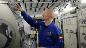 Astronaut Plugs Hole In The International Space Station With His Finger