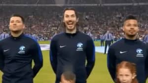 Blake Harrison Left Viewers In Stitches During National Anthem On Soccer Aid