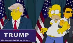 'The Simpsons' Predicted Donald Trump's Shock Election 16 Years Ago
