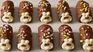 Colin the Caterpillar And Wife Connie Have Had Kids... And They Taste Good