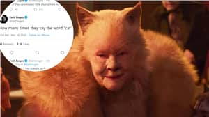 Seth Rogen Got High While Watching Cats And Live Tweeted It