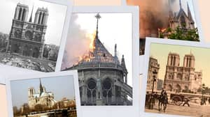 Pictures Taken Over 100 Years Apart Show The Rich History Of Notre-Dame