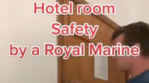 Ex-Marine Shares How To Stop Intruders Breaking Into Your Hotel Room