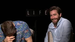 Ryan Reynolds and Jake Gyllenhaal Couldn't Cope During Hilarious Interviews