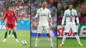 The Reason Why Cristiano Ronaldo Does His Trademark Stance Before Taking Free-Kicks
