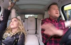 Madonna Appeared On 'Carpool Karaoke' And Revealed That She Has Kissed Michael Jackson