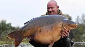Roofer Fears He'll Get Death Threats After Catching Britain's Biggest Carp