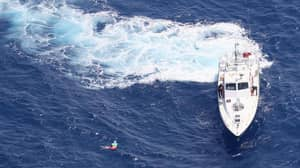 Sunbather Rescued Seven Miles Out At Sea On Tiny Lilo