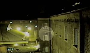 Footage Shows Drone Delivering Drugs And Mobile Phone To Prison Cell