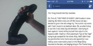Facebook User Describes Grandma Walking In On Them Playing With Dildo