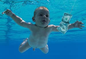The Nirvana Baby Has Recreated The 'Nevermind' Cover