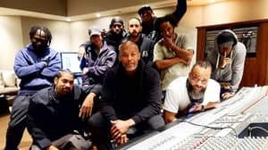 Dr Dre Back In The Studio One Day After Being Released From Hospital