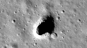 A Massive Cave Has Been Found On The Moon