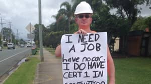 Unemployed Dad Goes To Extreme Lengths To Find A Job To Provide For Family