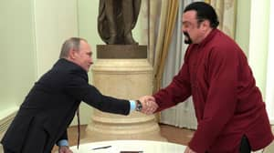 Steven Seagal Blacklisted From Entering Ukraine After Supporting Putin