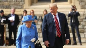 Donald Trump Accused Of Not Showing Enough Respect To The Queen