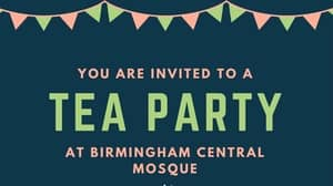 Mosque Tea Party Currently Countering EDL Birmingham Demonstration