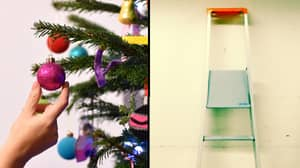 The Stepladder Is This Year's New Hipster Alternative To Christmas Trees