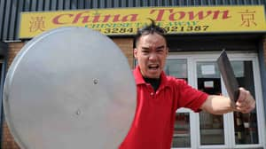 Takeaway Owner Fights Off 'Armed Robber' With Pot Lid And Meat Cleaver