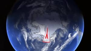 Google Earth: Conspiracy Theorists Excited About Weird X Over Antarctica