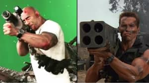 There's Something The Rock Can't Do – Arnie Impressions