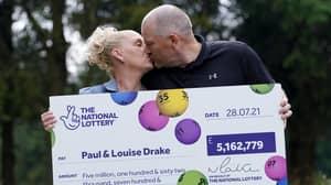 Key Worker Couple Who Won Huge Lotto Jackpot Claim Prize Won't Change Them