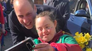 Prince William Breaks Royal Protocol To Have Selfie With Fan