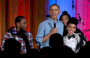 Kendrick Lamar Performed At The White House On Independence Day