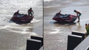 LAD Trolls Dan Bilzerian As He Struggles With His Jet Ski