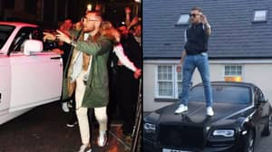 Conor McGregor Is Loving The Sesh In Liverpool