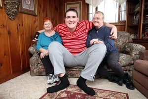 World's Tallest Teenager Reaches Record-Breaking 7ft 8ins And Is Still Growing