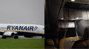 Ryanair Flight Plummets From 36,000 Feet For Emergency Landing