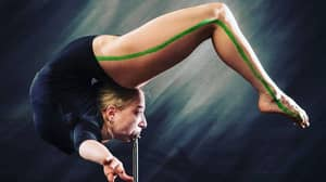 Woman Known For Bending Herself In Half Performs Dangerous Marinelli Bend