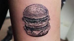 Former McDonald's Worker Gets Big Mac Tattooed On Her Arm