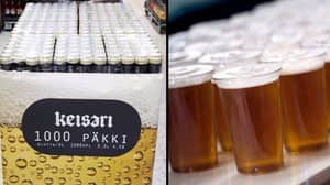 Finnish Brewery Introduces 1000-Packs Of Beer And Raises The Game Forever