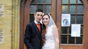 Couple Get Hitched For Just £300 With £10 eBay Dress And Brewers Fayre Meals