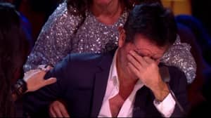 Simon Cowell In Tears On Celebrity X Factor Final After Listening To Charity Single