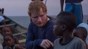 Ed Sheeran Saved Some Liberian Street Boys After Hearing Their Emotional Stories