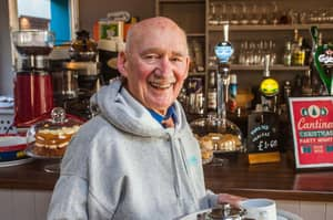 89-Year-Old War Veteran Who Said He Was 'Dying Of Boredom' Lands Job In Cafe