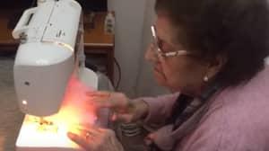 Quarantined Grandma, 84, Sews 50 Face Masks A Day Amid Shortage