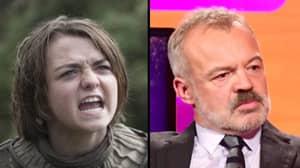'Game Of Thrones' Star Maisie Williams Adds Graham Norton To Arya Stark's Kill List