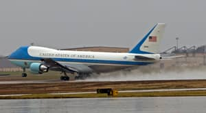 The Inside Of Air Force One Sounds Amazing