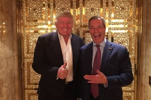 The First British Politician Trump Met As President-Elect Was Nigel Farage