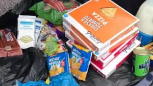 Mum Shows How Much Food You Can Get In Aldi For A Tenner