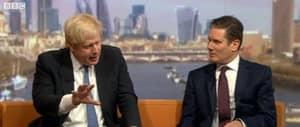 Boris Johnson's Tie On The Marr Show Was Longer Than 2016 So Far