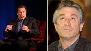Robert De Niro Fobbed Off Arnold Schwarzenegger Because He's 'Voting For Trump'