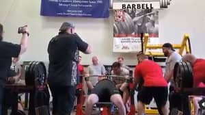 Weightlifter Jimmy Kolb Breaks All-Time Bench Press World Record