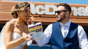Bride And Groom Live The Dream With Maccies Wedding Day