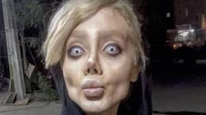 Angelina Jolie Lookalike Sahar Tabar Speaks Out... Apparently